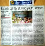 Experts call for skilling youth, women