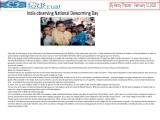 India Observing National Deworming Day
