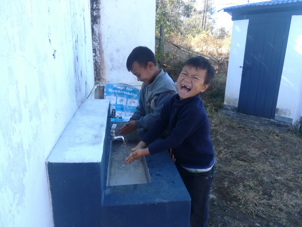 School water post by AROH