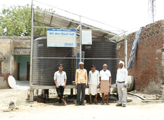 Renewable Energy - Reusing Solar light to provide drinking water to villagers